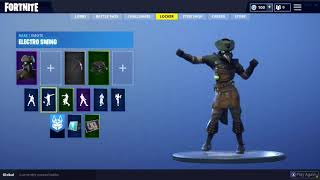 NEW FORTNITE PLAGUE SKIN & ELECTRO SWING DANCE! HALLOWEEN!