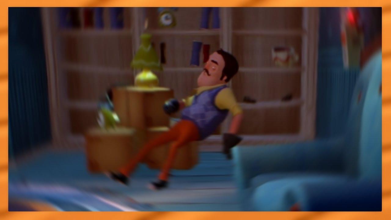 I Stole His Chair Lol Hello Neighbor Alpha 2 Doovi