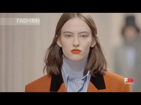 AMI Alexandre Mattiussi Women's Pre-Collection Fall 2019 2020 Paris - Fashion Channel