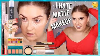 CCGRWM 💕 full face of MATTE MAKEUP challenge 🔥 hair & makeup tutorial