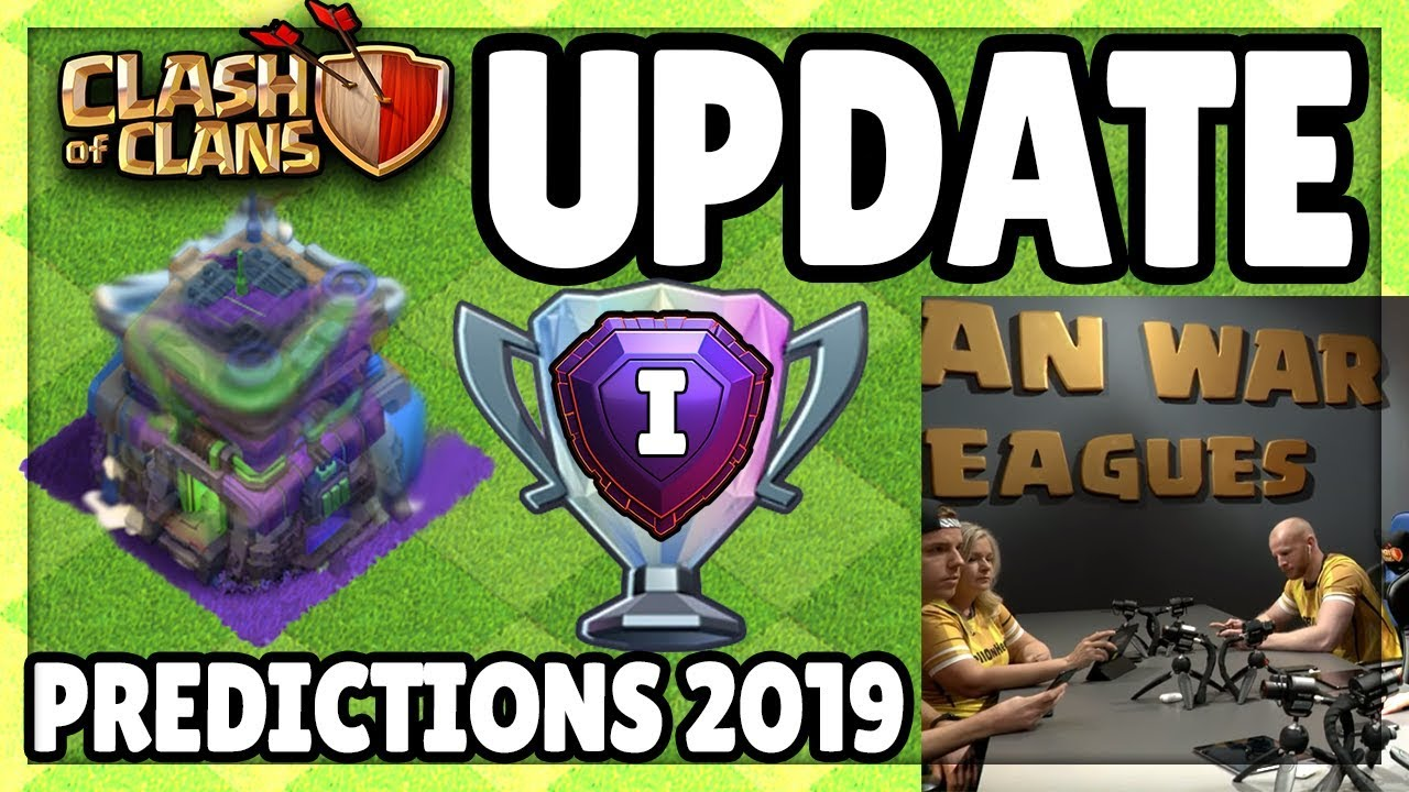 clash of clans updates top 5 predictions for 2019 in coc. Black Bedroom Furniture Sets. Home Design Ideas