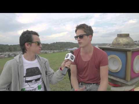 Dannic Interview @Tomorrowworld