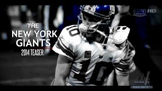 The New York Giants 2014 Teaser