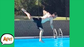 Get Ready For a FLOPPING FAIL! 🤣   Funny Videos   AFV 2020