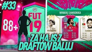 ✨ IKONY, IKONY oraz WALKOUT!! / FIFA 19 ZA HAJS Z DRAFTÓW BALUJ [#33]