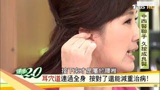 耳朵這樣代表生病了?超重要!按摩耳朵穴還能減重治病 健康2.0