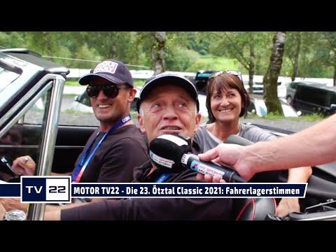 MOTOR TV22: Die 23. Ötztal Classic 2021 - Die Fahrerlagerstimmen vor dem Start