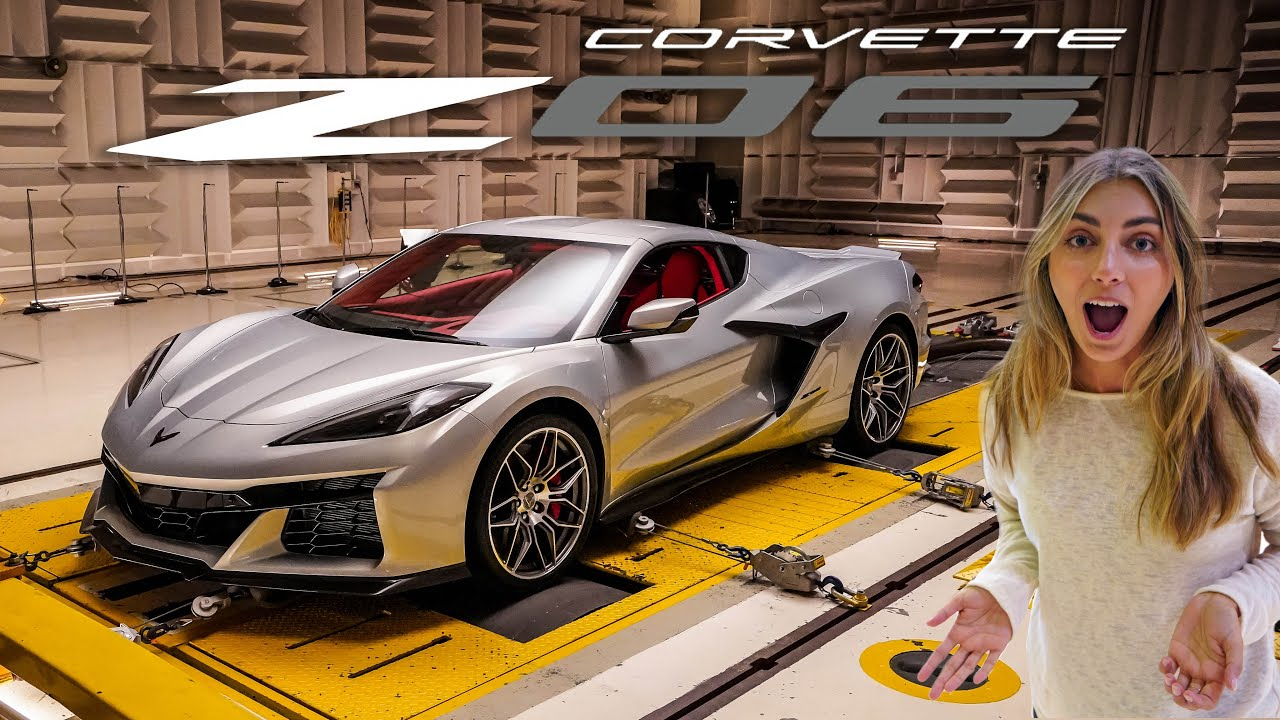 Introducing the All New 2023 Corvette Z06 World Exclusive