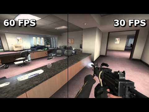 60 fps video vs 30 in CS GO