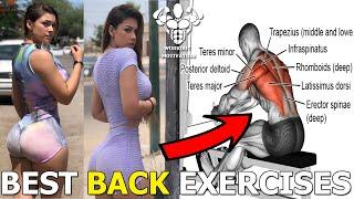 BEST BACK EXERCISES FOR WOMEN 5 EXERCISES FEMALE FITNESS MOTIVATION