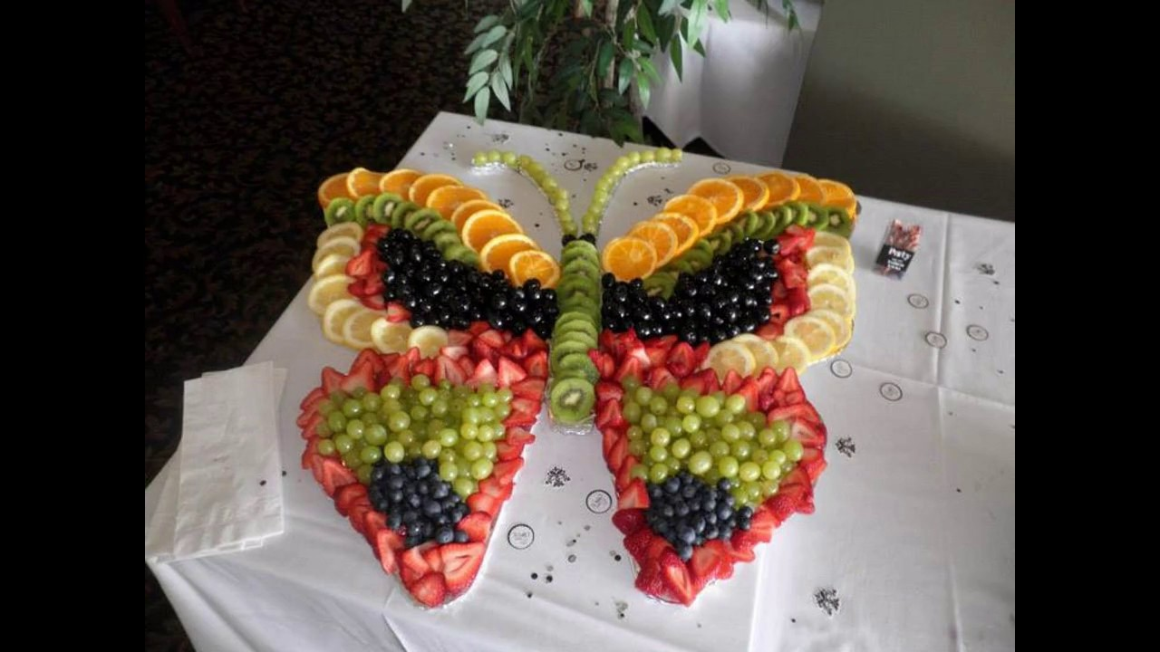 Creative Fruit Decoration For Parties Youtube