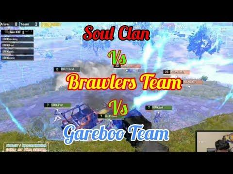 Soul vs Brawlers vs Gareboo final circle streamers battle pubg mobile epic ending 001
