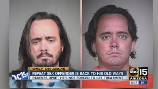 Repeat sex offender back to his old ways