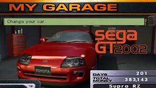 Sega GT 2002: My cars (so far)