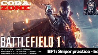 BATTLEFIELD 1 BETA - Sniper Shots - CODA ZONE