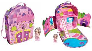 Рюкзачок Everyday Princess Backpack Dollhouse, Сюрпризы Дисней Яйца Самолетики