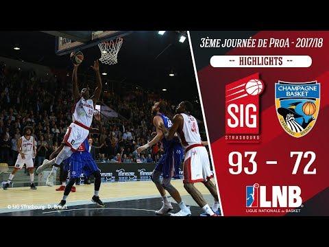 SIG Strasbourg-Châlons Reims: highlights et réactions de Pape Sy