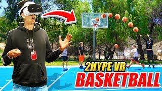 *FIRST EVER* IRL VR Basketball - 2Hype Knockout & BANK