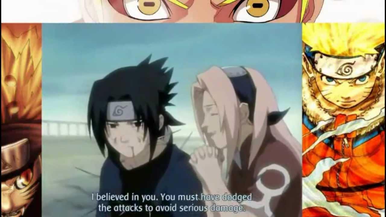 Sasuke and Sakura Scenes (Part 1) - YouTube