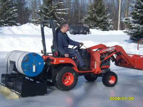 Zamboni For Sale >> Homemade Zamboni - YouTube