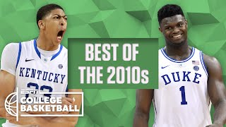 The best college basketball players of the decade: AD, Zion, Jimmer, Kemba and more