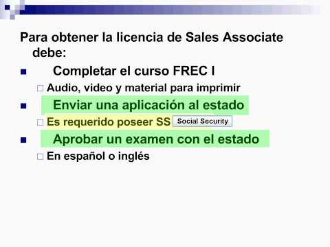 Presentacion Real Estate Sales Associate