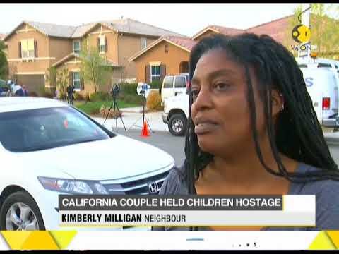 California couple held 13 kids captive