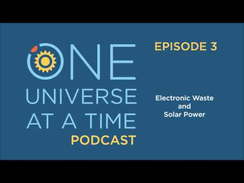 Electronic Waste/Solar Power