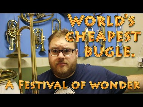 World's Cheapest Bugle - An Excellent Specimen