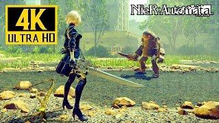 NieR: Automata - 4K Gameplay (GTX 1080) @ 2160p HD ✔