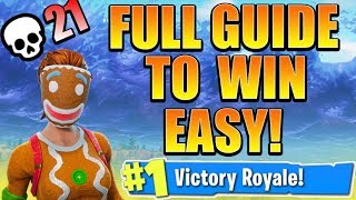 Full Guide to WIN Fortnite Season 5! How to Win Fortnite Best Tips and Tricks! (Ps4/Xbox Tips)