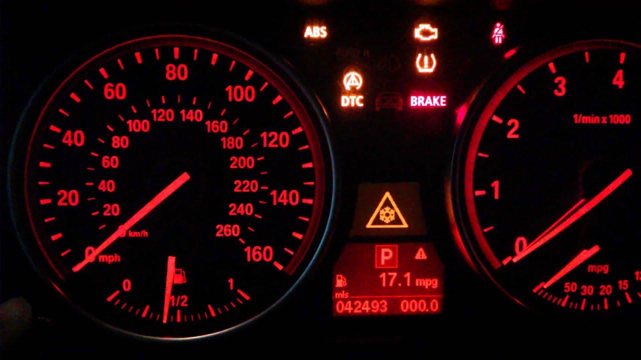 Reset Mot Light Bmw E Best BMW Series - Bmw 320 warning signs