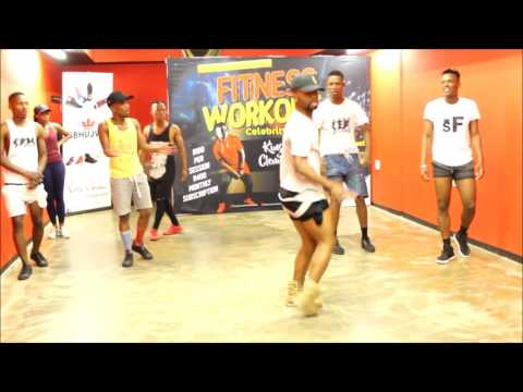 Soweto's Finest dancing in their studio