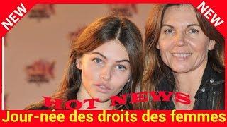 Journée des droits des femmes : Thylane Blondeau adresse un joli message à sa maman Véronika