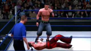 WWE Smackdown v.s Raw 2005 -PS2 (John Cena vs Matt Hardy)