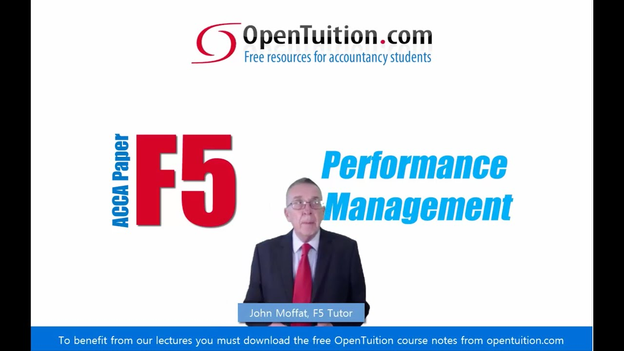 Opentuition f5 course notes
