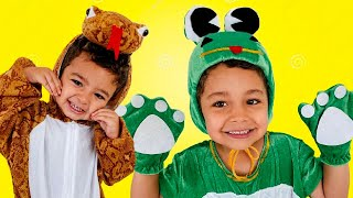 Animal Song for Kids Nursery Rhymes by Caletha Playtime
