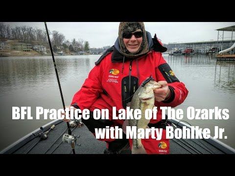 Spring Bass Fishing on Lake of The Ozarks