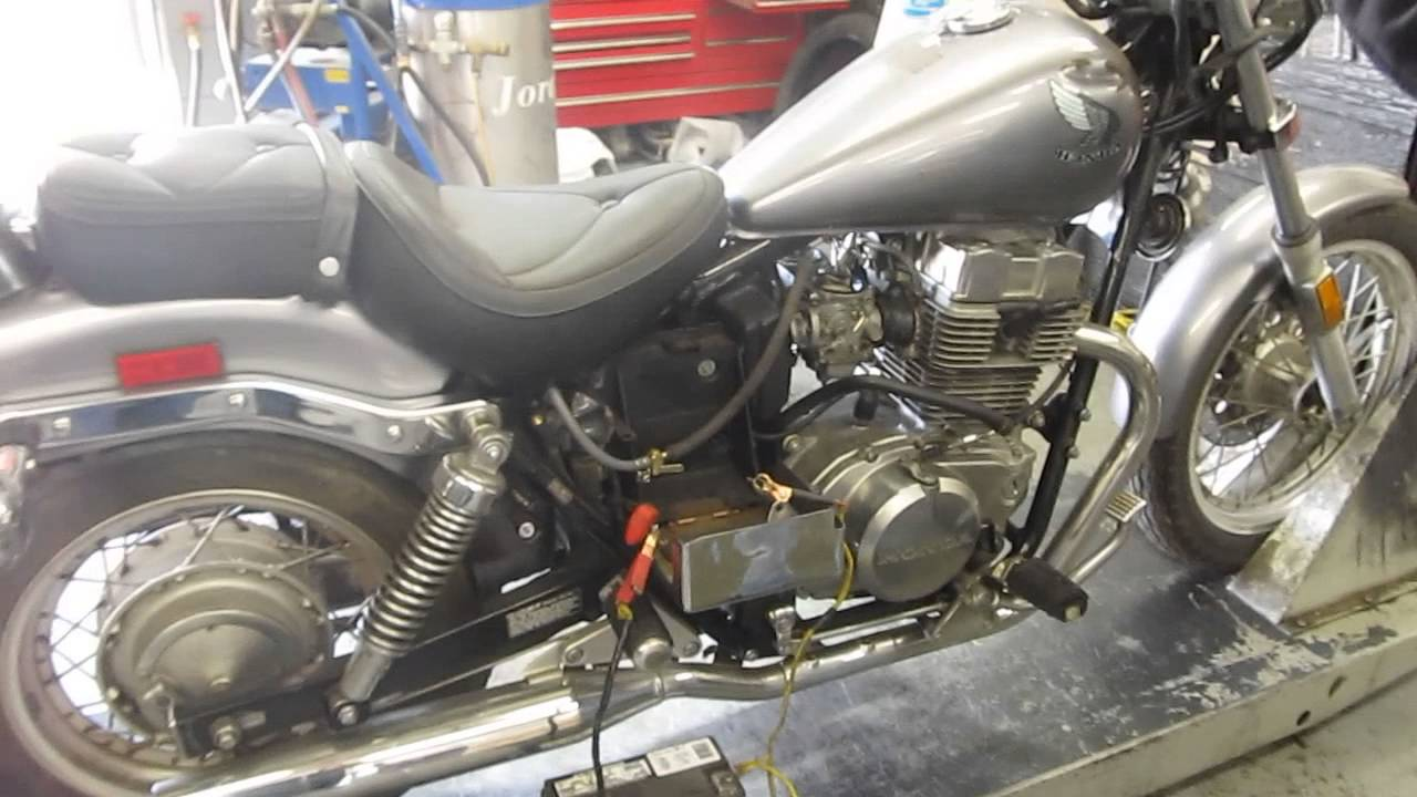 2015 Honda Rebel >> (1986)-1987 HONDA CMX450C REBEL 450 MOTOR AND PARTS FOR SALE ON EBAY - YouTube
