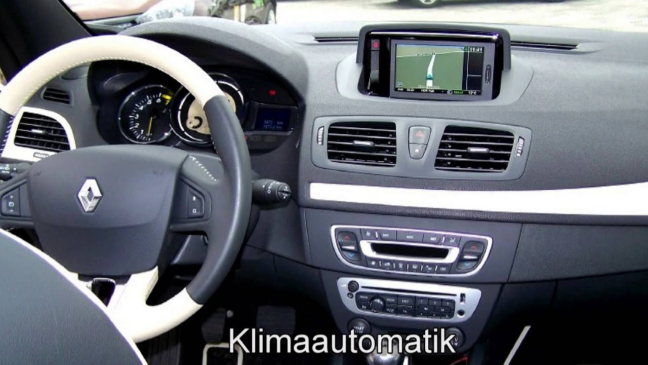 renault megane iii cabrio floride tce130 890424 navigation. Black Bedroom Furniture Sets. Home Design Ideas