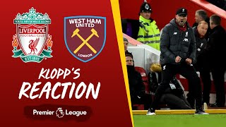 Klopp's Reaction: Breaking records, Trent Alexander-Arnold & Anfield win | Liverpool vs West Ham
