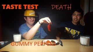 GUMMY PEPPER taste test!!!!!!!!