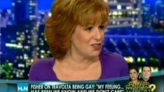 Joy Behar - Carrie Fisher Outs John Travolta?