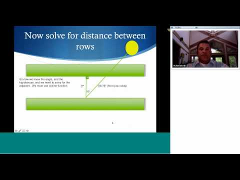 SolPowerPeople #SolarMOOC Verifying System Design (Inter-Row Shading)