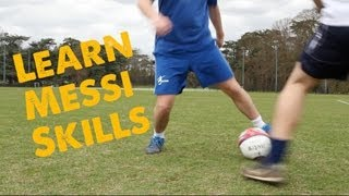 Learn Messi's signature move - Football skills