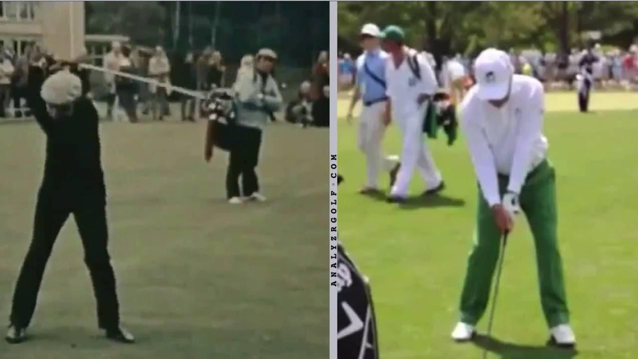 Swing Analysis - Old Jack Nicklaus vs Young Jack Nicklaus