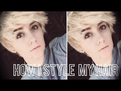 HOW I STYLE MY TOMBOY/ANDROGYNOUS HAIR!