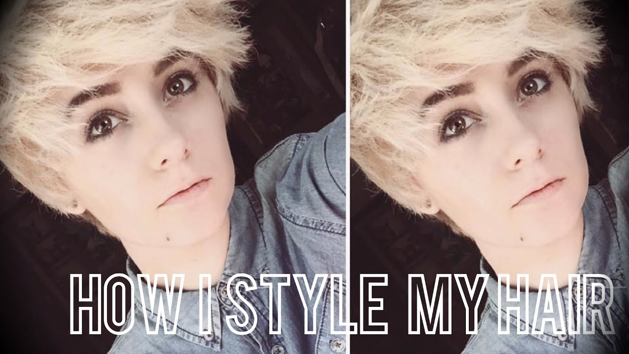 how do i style my hair how i style my tomboy androgynous hair 7485