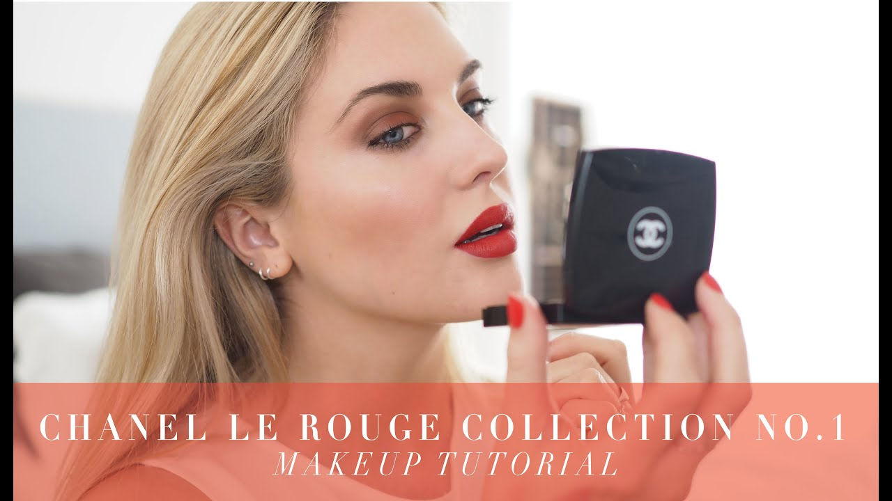Chanel le rouge no1 makeup tutorial collection reveal 1st look chanel le rouge no1 makeup tutorial collection reveal 1st look style lobster youtube baditri Images