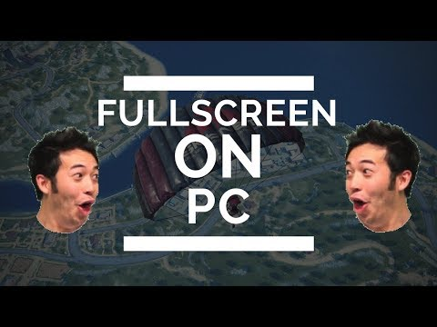 Rules of Survival - How to Play Fullscreen on PC